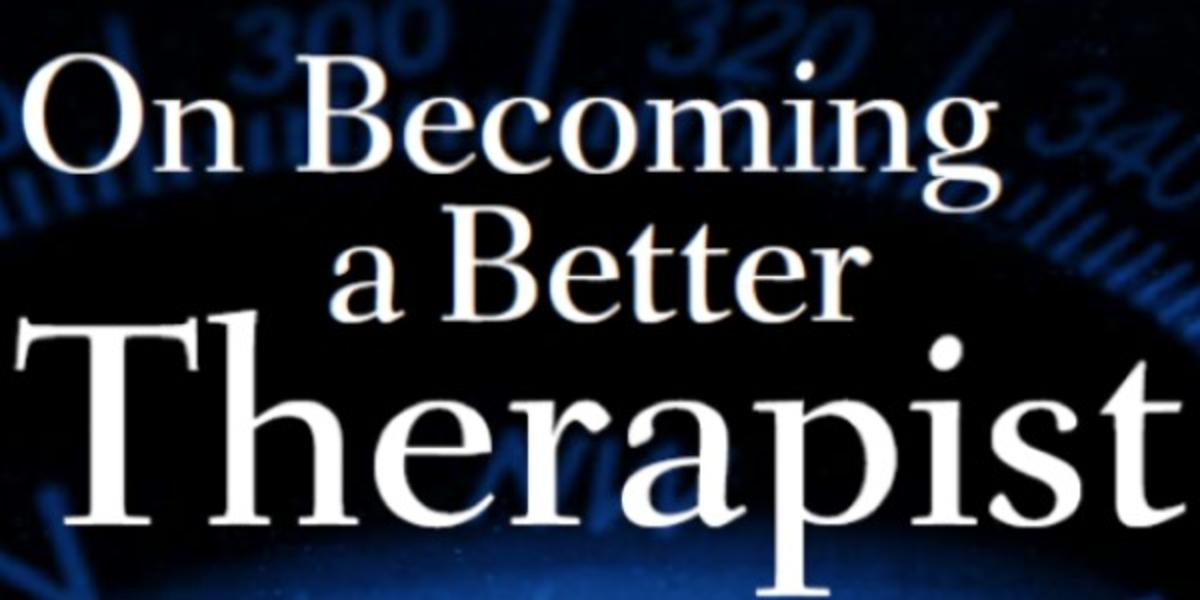 On Becoming a Better Therapist Book Cover